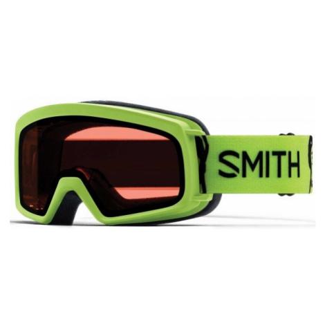 Smith RASCAL zelená - Detské lyžiarske okuliare
