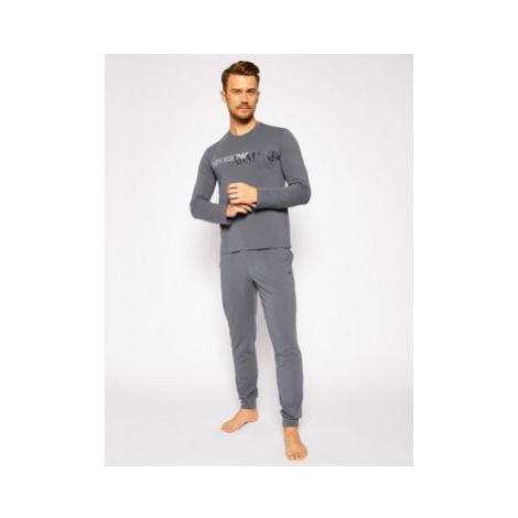 Emporio Armani Underwear Pyžamo 111907 0A516 00044 Sivá