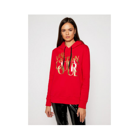 Versace Jeans Couture Mikina B6HZB72T Červená Regular Fit