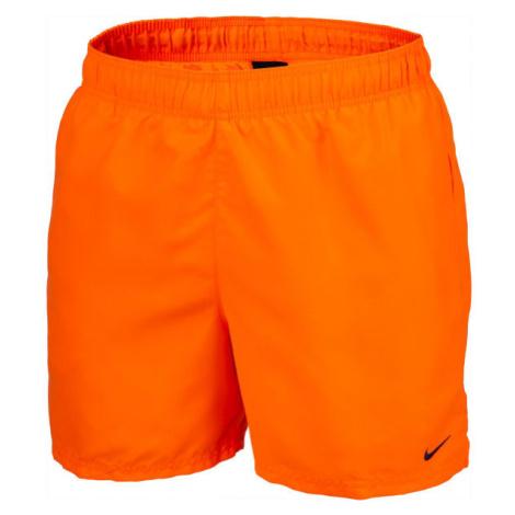 Nike ESSENTIAL SCOOP oranžová - Pánske kúpacie kraťasy