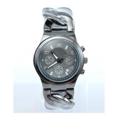 Dámske hodinky - náramok reťaz Black