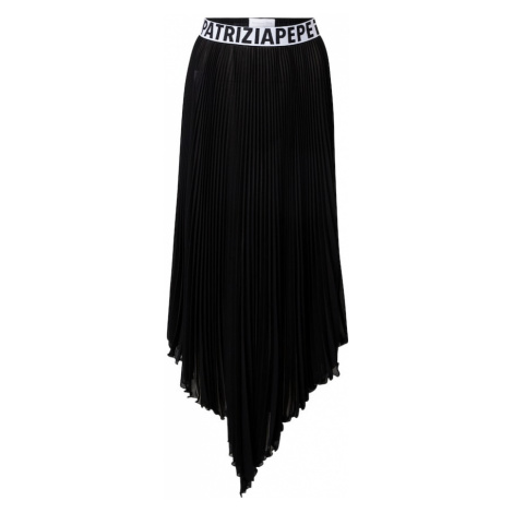 PATRIZIA PEPE Sukňa 'GONNA'  čierna / biela
