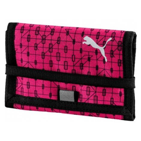 Puma BETA WALLET ružová - Peňaženka