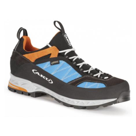 Pánske topánky AKU Tengu Low GTX modro / oranžová