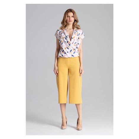 Figl Woman's Pants M655 Mustard
