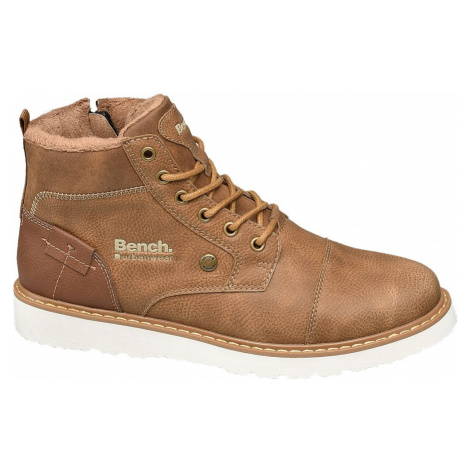 Bench - Hnedá členková obuv Bench