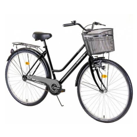 """Dámsky mestský bicykel Kreativ Comfort 2812 28"""" - model 2019 Farba Black"""