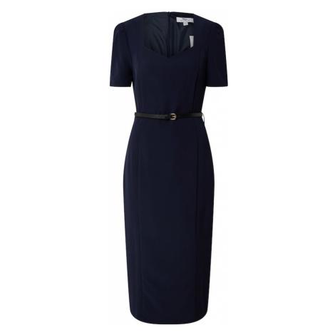Dorothy Perkins (Tall) Puzdrové šaty 'Tall Navy Sweetheart Dress'  modrá