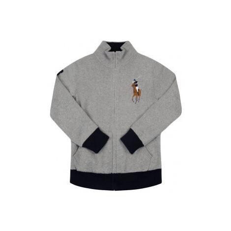 Polo Ralph Lauren Sveter Spring II 323787062 Sivá Regular Fit