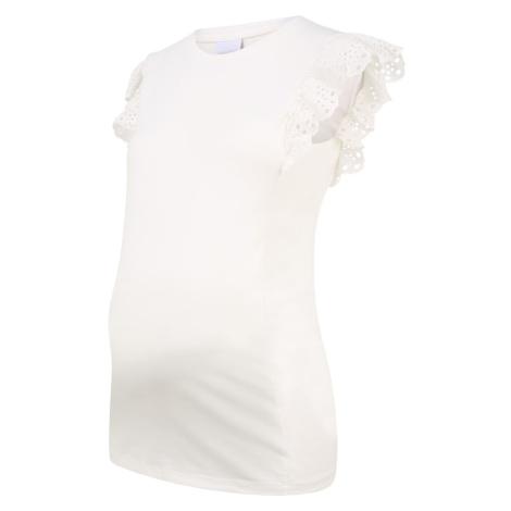MAMALICIOUS Tričko  biela Mama Licious