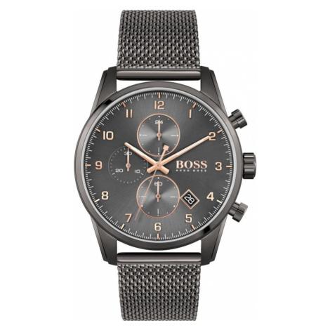 BOSS Analógové hodinky 'SKYMASTER'  antracitová Hugo Boss