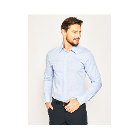 Joop! Košeľa 17 JSH-63Pierce 30019726 Modrá Slim Fit
