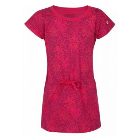 Loap IWONKA ružová - Dievčenské šaty