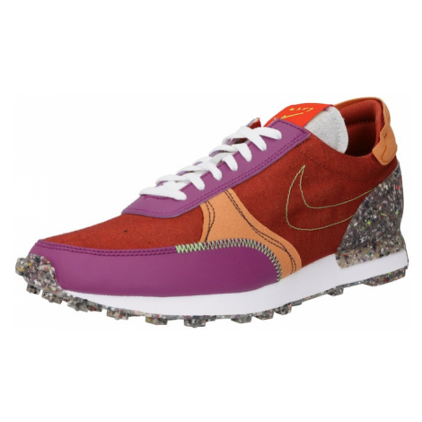 Nike Sportswear Nízke tenisky  biela / sivá melírovaná / oranžovo červená / fialová / oranžová