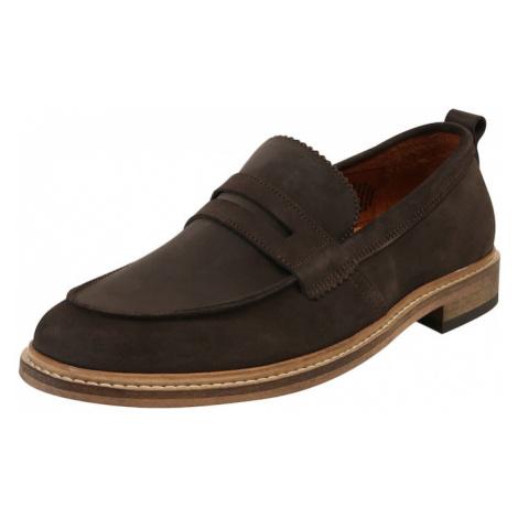 Shoe The Bear Papuče 'ALONSO S'  tmavohnedá
