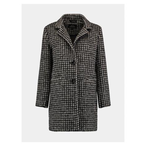 Šedý kockovaný kabát Hailys Haily´s