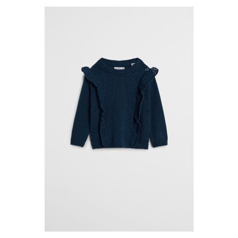 Mango Kids - Detský sveter Kareny 80-104 cm