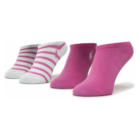 Súprava 2 párov kotníkových ponožiek detských POLO RALPH LAUREN