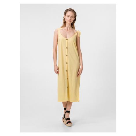 Petra Šaty Vero Moda Žltá