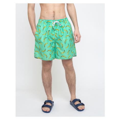 Dedicated Swim Shorts Sandhamn Bananas Mint