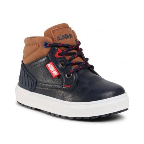 Šnurovacia obuv Action Boy AVO-191-256(III)CH Imitácia kože/-Imitácia kože