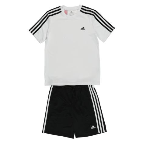 ADIDAS PERFORMANCE Športový úbor  biela / čierna