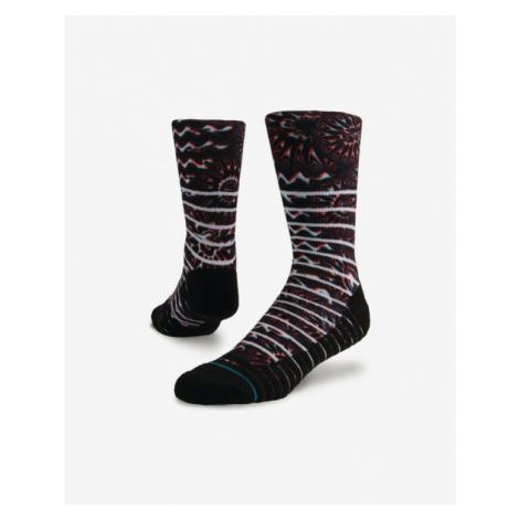 Stance Kaleido Crew Ponožky Čierna