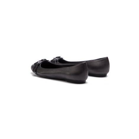 Calvin Klein Baleríny Orion E8867 Čierna