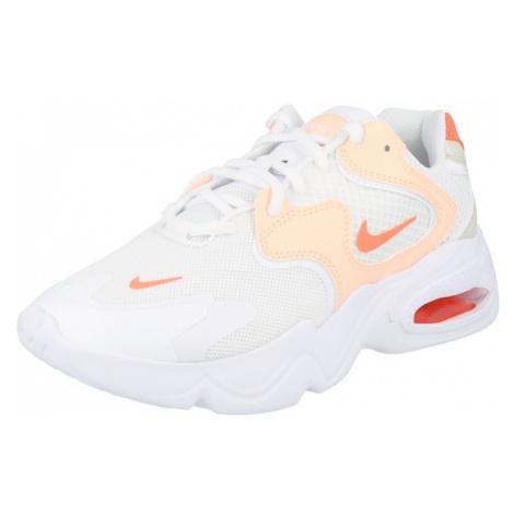 Nike Sportswear Nízke tenisky 'Air Max 2X'  biela / broskyňová / koralová