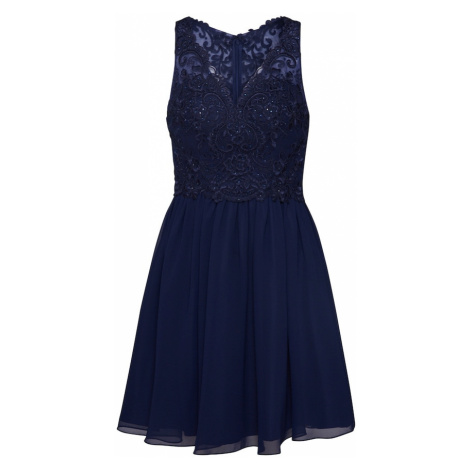 Laona Kokteilové šaty  tmavomodrá / námornícka modrá