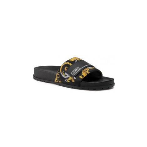 Versace Jeans Couture Šľapky E0VZASQ4 Čierna