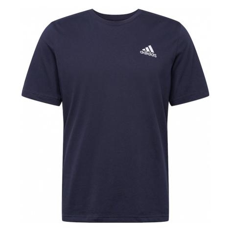 ADIDAS PERFORMANCE Funkčné tričko  tmavomodrá / biela