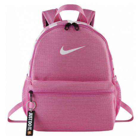Nike BRASILIA JDI ružová - Detský batoh