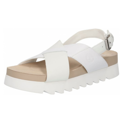 TIMBERLAND Remienkové sandále 'Santa Monica Sunrise'  biela