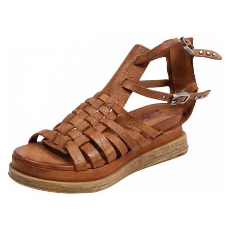 A.S.98 Remienkové sandále 'Lagos'  koňaková