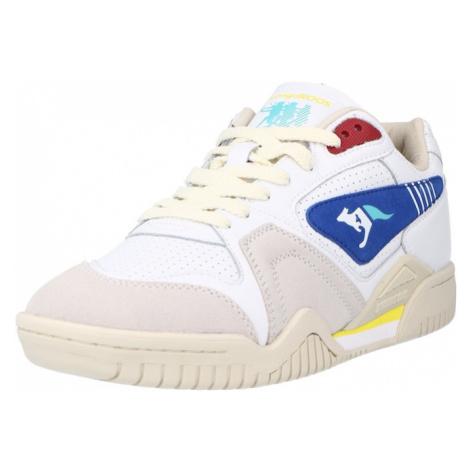 KangaROOS Nízke tenisky 'Ultralite 2'  biela / svetlosivá / modrá / tmavočervená