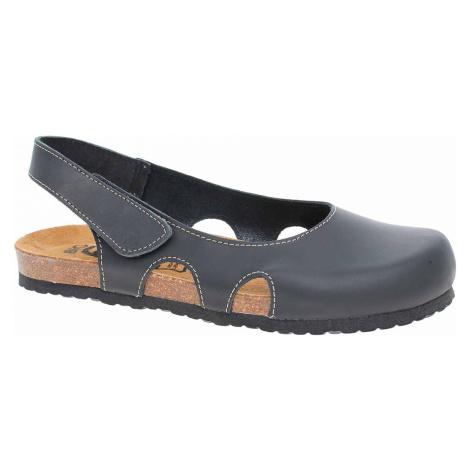 Dámské sandály Bio Life 0837. Riva black leather 0837. Riva 189 black leather