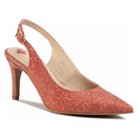 Sandále MACCIONI - 119 Czerwony