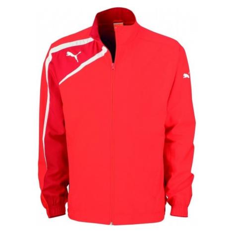 Puma SPIRIT WOvoN JACKET JR červená - Detská športová bunda