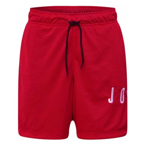 Jordan Športové nohavice  červená