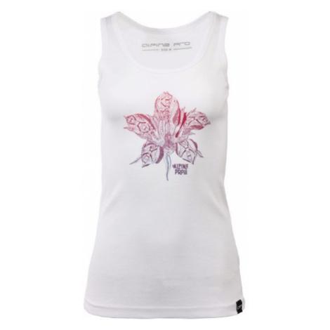 ALPINE PRO BRUATA 2 biela - Dámske tričko