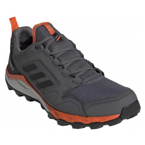 adidas TERREX AGRAVIC TR GTX tmavo sivá - Pánska outdoorová obuv
