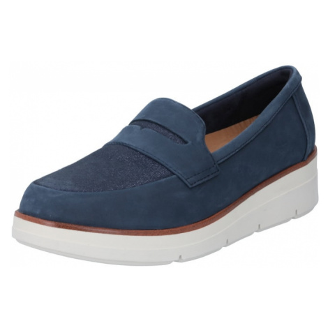 CLARKS Slip-on obuv 'Shaylin Step'  námornícka modrá