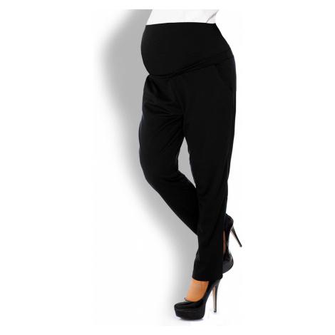 Čierne tehotenské nohavice 1276 PeeKaBoo