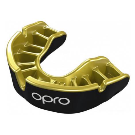 Opro GOLD JUNIOR BLK - Detské chrániče zubov