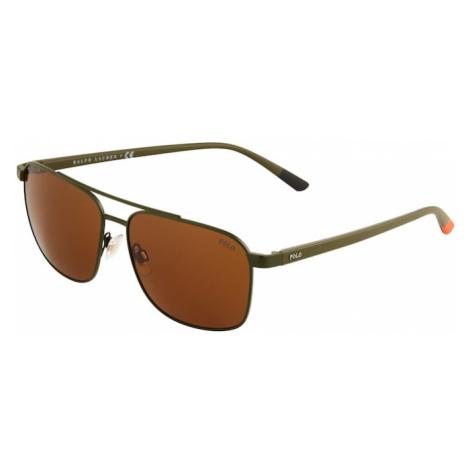POLO RALPH LAUREN Slnečné okuliare '0PH3135'  olivová / karamelová
