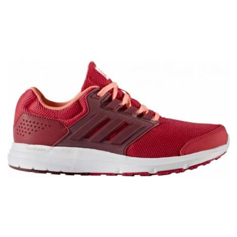 adidas GALAXY 4 W červená - Dámska bežecká obuv