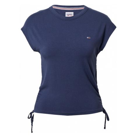 Tommy Jeans Tričko  námornícka modrá
