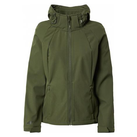 4F Outdoorová bunda  zelená