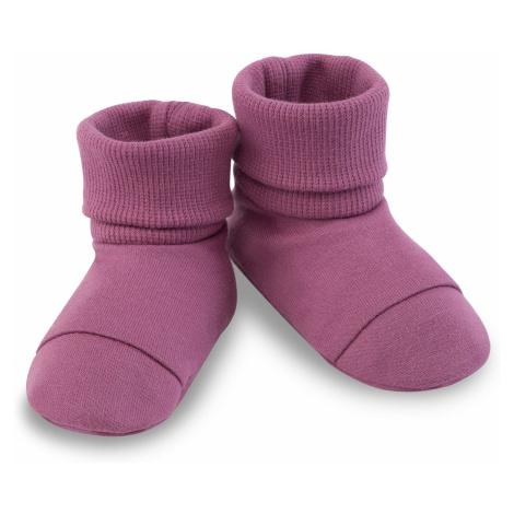 Ružové topánky pre dojčatá a batoľatá